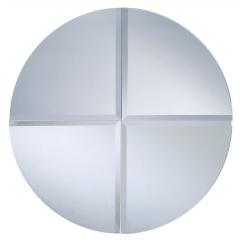 espejo Cuarto De Círculo Biselada :: DUBIEL VITRUM - espejos producción