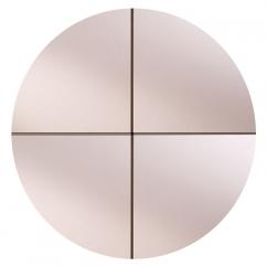 espejo Cuarto De Círculo Pulido :: DUBIEL VITRUM - espejos producción